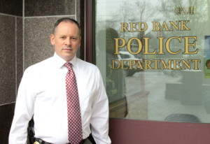 Red Bank Police Chief Darren McConnell is in charge of the 40-member department. By John Burton