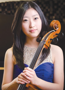 16-year-old cellist Sydney Lee is the winner of this year's Goldwasser Young Artist Concerto Competition, sponsored by the Monmouth Symphony Orchestra, and will play the Elgar Cello Concerto in E Minor at the March 30 event. Courtesy of Monmouth Symphony Orchestra