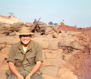 Jack Manick, a combat medic in Vietnam, will be speaking about his experiences on Saturday, April 12, at the New Jersey Vietnam Veterans' Memorial Foundation.