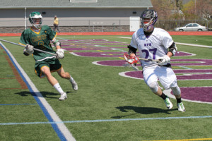 RBC's Matthew Kruger comes in for the attack on RFH's Colin Shea as he moves the ball up-field. --Sean Simmons