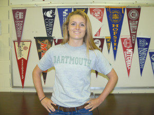 Red Bank Regional scholar-athlete Jazz Van Loon will be heading to Dartmouth. --Courtesy RBR