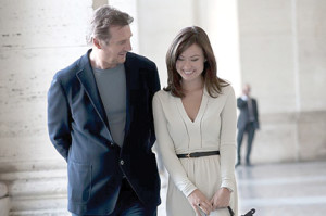 "Liam Neeson and Olivia Wilde in ""Third Person."""
