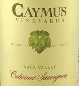 Caymus Vineyards Cabernet Sauvignon