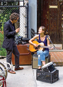 "Mark Ruffalo and Keira Knightly in ""Begin Again."
