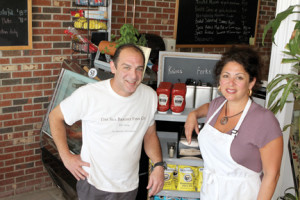 Paul Diomede, actor turned restaurateur, and his sister Kim Cognata, offer fresh seafood meals at their new Sea Bright Fish Company restaurant.