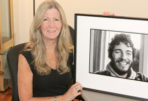 Eileen Chapman, manager of The Bruce Springsteen Special Collection at Monmouth University, says the popular musician has a history of performing at the university.