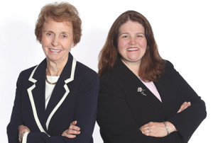 Frances Joyce and her daughter, Mary O'Malley-Joyce, have joined the Shrewsbury office of Heritage House Sotheby's International Realty. --Courtesy Heritage House