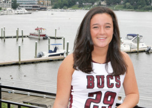 Murphy Davis finished her scholastic lacrosse career at Red Bank Regional with 261 goals. She will be attending Clemson University, S.C., in the fall.
