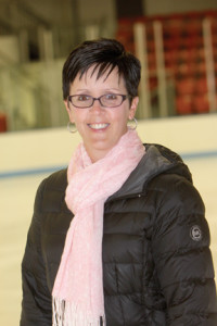 Adriana Ryan, director of the Learn to Skate program at Middletown Ice World. coaches figure skaters of all ages and abilities.