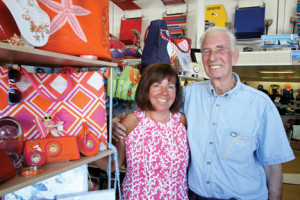 Elizabeth Leoardis who operates Beach Boutique at her husband Fred Leoardis' business Angler's Marina in Sea Bright. She wishes the summer had been hotter.