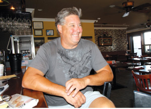 Doug Lentz, owner of the Inlet Café, Highlands, has seen a solid summer business at his eatery, thanks in a large part to this summer's clear and relatively mild weather.
