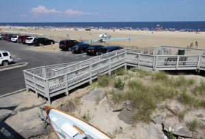 If a proposal to build a 1,500-foot boardwalk in Sea Bright comes to fruition, it would connect with the borough's existing 75-foot boardwalk.