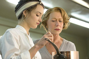 "Charlotte Le Bon and Helen Mirren in ""The Hundred-Foot Journey."""