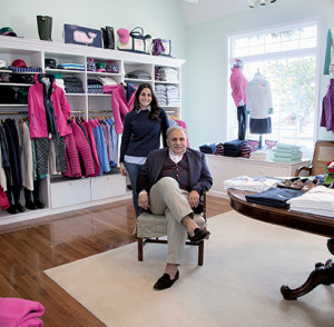 Brian George with his daughter Mary Dobson opened The Porch at Northshore to merchandise women's wear. --Tina Colella