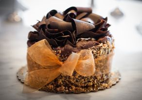 A cake from the Flaky Tart bakery in Atlantic Highlands. Photo by Tina Colella