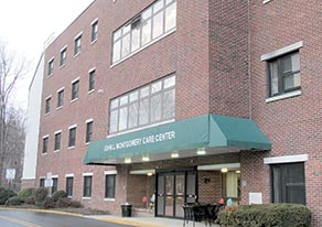 The Monmouth County Freeholders are moving forward with plans to privatize the two county-owned and operated nursing home care facilities, the John L. Montgomery Center, Freehold, and the Geraldine L. Thompson Care Center, Wall. Photo by John Burton