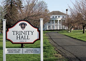 Trinity Hall, a private all girls high school, has been leasing a building on the campus of Croydon Hall (not shown) and would like to continue using the site as it battles ongoing litigation over its proposed permanent facility. Photo by John Burton