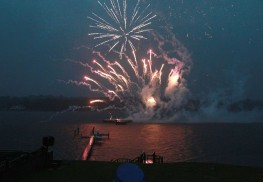 Fireworks on the Navesink to benefit the Riverview Medical Center Foundation.  6/27/15