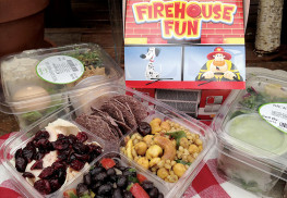 Lunches for school kids should be healthy, convenient – and fun.  Courtesy Sickles Market