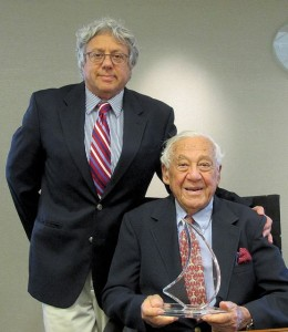 Drs. Stephen and Harry Swartz have combined over 80 years of experience and dedication to their patients. Photo: John Burton