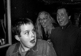 Matthew Buzzanco and his parents were scared but amused at last year's Atlantic Frightlands.