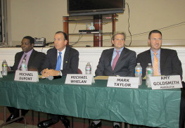 Red Bank Democratic and Republican candidates met to answer community members' questions a recent Candidates Night.