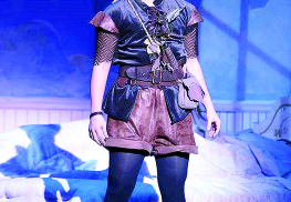 Jennifer Townsend shines in her captivating performance as Peter Pan. Courtesy Phoenix Productions