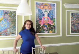 Marita Lynn, owner of Runa Peruvian Cuisine, stands in the restaurant located at 110 Monmouth St. The restaurant is participating in Red Bank Restaurant Week with a $30 prix fixe menu. Photo: Danielle Schipani