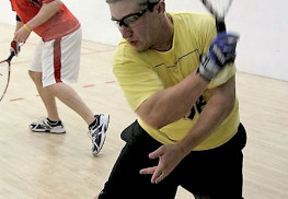Jonathan Clay of Middletown is working to bring professional racquetball back to NJ, and expand the footprint of tournament play through the development of more and larger amateur tournaments.