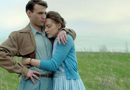 "Emory Cohen and Saoirse Ronan star in ""Brooklyn."" Photo courtesy Kerry Brown, Fox Searchlight Pictures"