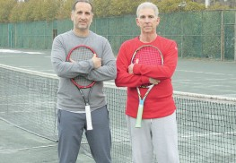 David Braka and Jeff Miller, owners of the LIttle Silver Tennis Club. Photo: John Burton
