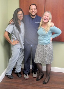 The staff at Red Bank Gastroenterology – including Drs. Subha Sundararajan, Douglas Weine, and nurse Bonnie Miller Woodward – stress the importance of colonoscopies.