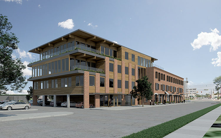 An Artistu0027s Rendering Of The New Fresh Food Marketplace Sickles Market  Plans To Open In Red