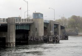 Officials will hold a public meeting on June 8 to discuss replacement plans for the bridge connecting Rumson and Sea Bright over the Shrewsbury River-Photo Courtesy Anthony V. Cosentino