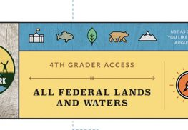 Fourth graders can earn a free pass for their families to National Parks.