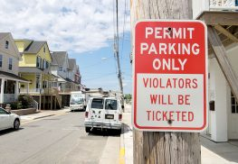 Several streets in downtown Sea Bright will permit resident only parking, under proposed legislation. Photo: Anthony V. Cosentino