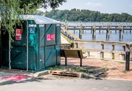 State environmental officials wish to partner with local governments and environmental groups to seek ways to curb the increase of bacterial contamination to the Navesink River. Anthony V. Cosentino