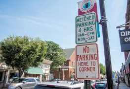 There is a parking shortage in Red Bank. Photo by Anthony V. Cosentino