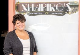 Susan Shapiro plans to open a New York style delicatessen on Red Bank's Broad Street. Photo by Anthony V. Cosentino