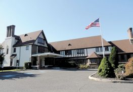 Gibbs Hall, listed on the National Register of Historic Places, is again up for sale as part of the Suneagles Golf Course complex at the former Fort Monmouth.