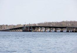 The Oceanic Bridge, linking Rumson and Middletown. Monmouth County officials says the bridge needs a major overhaul or a replacement.