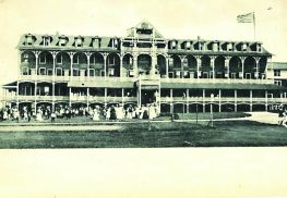 The original Peninsula House at the turn of the century.