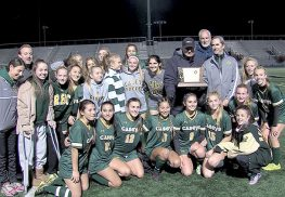 "Red Bank Catholic earned a co-championship in Non-Public Group ""A"" after coming back three times in a 3-3 tie against Oak Knoll on Nov. 13 at Kean University."