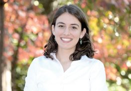Laura Courchesne, a 2017 graduate of Rumson-Fair Haven High School, was recently named a 2017 Rhodes Scholar. Photo courtesy Wingate Downs