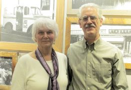 Judy Krusell, of Shrewsbury, and Phil Blackwood, Red Bank, are working with the Citizens' Climate Lobby to elicit legislative action to combat climate change.
