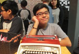 Orlando Gonzalez is an eighth grade student and aspiring writer who participates in the Project Write Now writing program at the Red Bank Middle School.