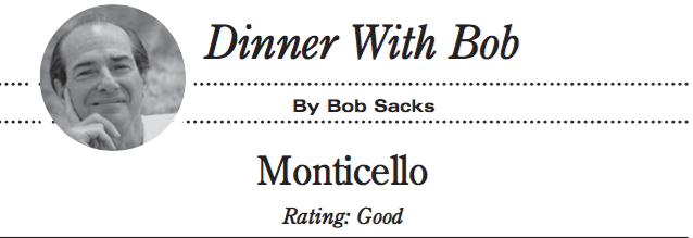 Restaurant Review: Monticello