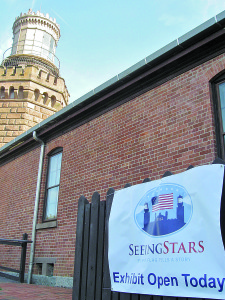 "The ""Seeing Stars"" exhibit at the Twin Lights Museum runs through fall 2016. Photo: Twin Lights Museum"