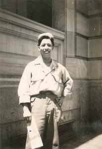 Tony Bucco served in the U.S. Army during World War II. Photo Courtesy Bucco Family