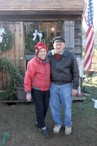 Pat and William Kohl, owners of the Lincroft Christmas Tree Farm.